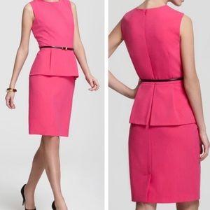 Calvin Klein Hot Pink Dress with Belt